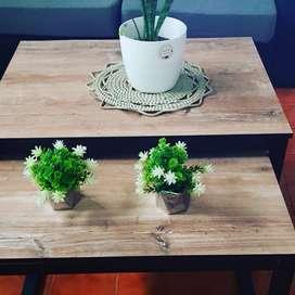 Vendo mesas estilo industrial
