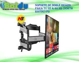 Soporte De Doble Brazo Para Tv 32 A 60 Nb (north Bayou) P5