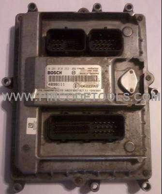 ECU de Iveco Tector 220  EDC7 0
