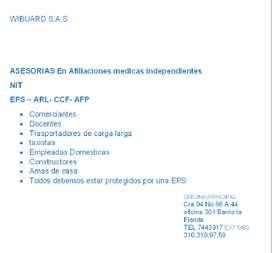 BUSCO ASESOR COMERCIAL