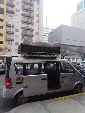 Servicio taxi van mudanzas, traslado de mercaderia, taxi al aeropuerto