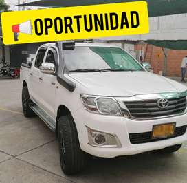 TOYOTA HILUX 4X4 DIESEL 2013 SINCRONICA DOBLE CABINA PICK UP REF. BT50 DMAX NP300 FRONTIER