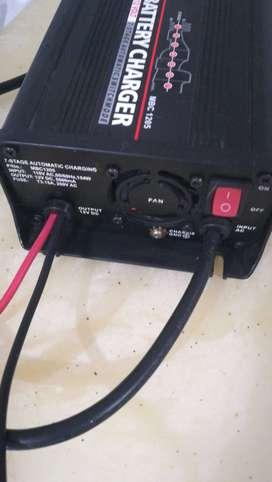 cargador de bateria automatico de 5000ma 12volt