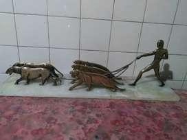 Mármol con 5 tigres