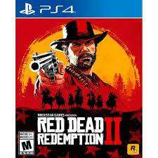 red dead redemption 2 ps4 juego