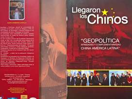 LOS CHINOS llegaron, UNICO LIBRO GRAN APORTE