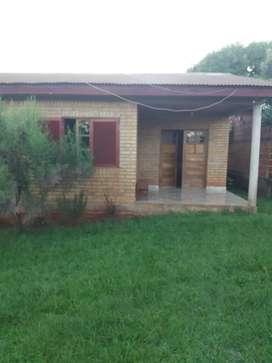 Casa de 11x 11.2 baño garach.terreno 18 x 50.