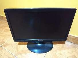Tv monitor 19 pulg