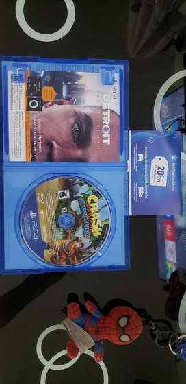Vendo juego crash Bandicoot como nuevo