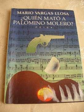 Libro ¿Quién mató a Palomino Molero? Mario Vargas Llosa'