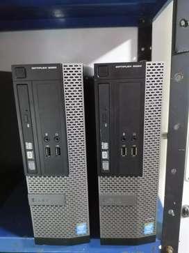 Cpu corporativo dell 3020 core i5 de 4ta generación 4gb de ram 120ssd ideal para trabajos pesados y studios web