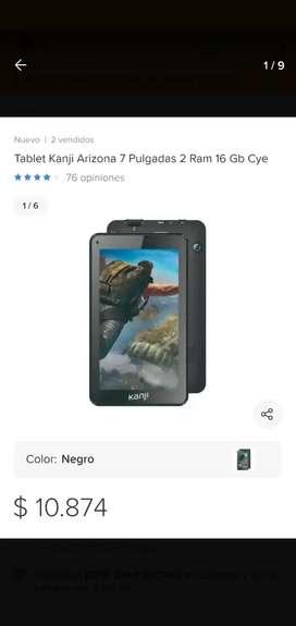 Vendo tablet 7 pulgadas