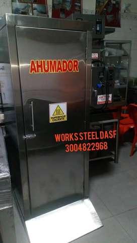 AHUMADOR CLIPADORA CUTTER EMBUTIDOR desmucilaginador  despulpadora tostadora ductos mezclador  MOLINO ETC