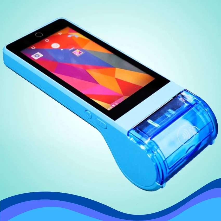 Tablet teléfono terminal pago Android impresora recibos