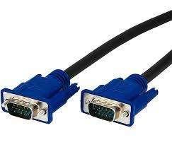 Cable Vga Macho A Macho Para Monitor Proyector 1,8m