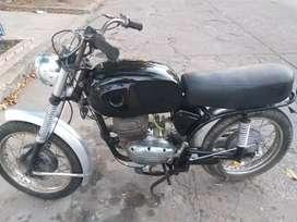 Moto zanella modelo 75