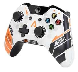 Control Xbox One Edición Limitada titanfall Inalámbrico de Primera generación
