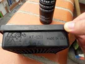 Filtro de aire KyN original para duke 200 duke 390 discover 125 y 150 casi nuevo