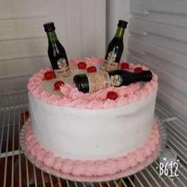 Torta con fernet de 3kilos