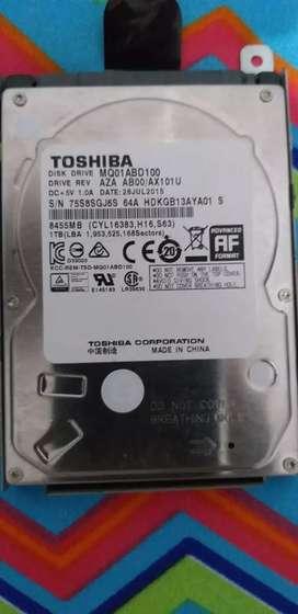 Disco duro mecánico para portátil de 1 tera
