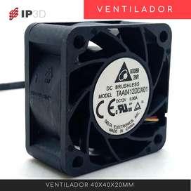 Ventiladores 4020 12 V para impresora 3D