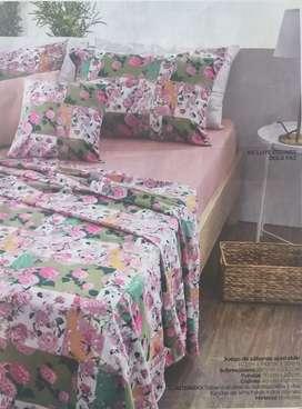 Juego de sábanas para cama doble