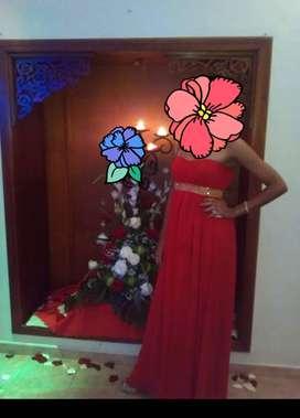 Vestido  rojo elegante talla S
