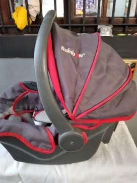 Butaca huevito para transportar bebes