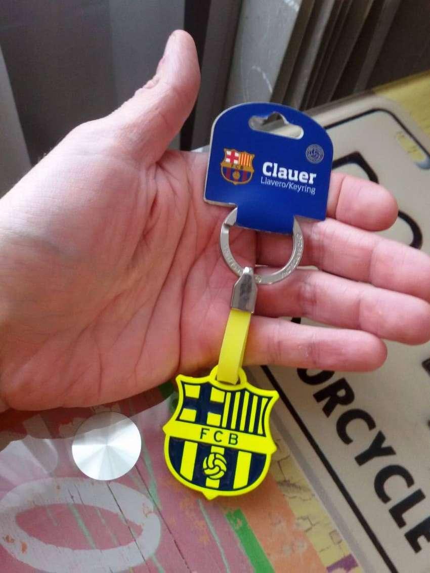 Llavero Futbol Clud Barcelona y España LEER DESCRIPCIÓN POR FAVOR 0