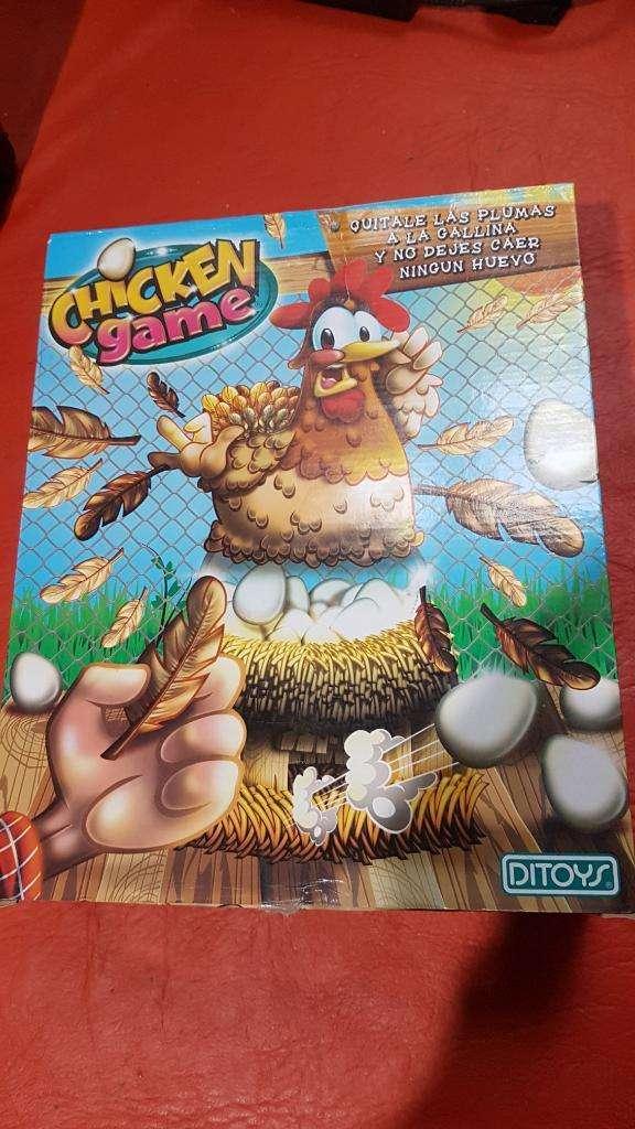 Juego Gallinita. Chicken Game. Ditoys. 0