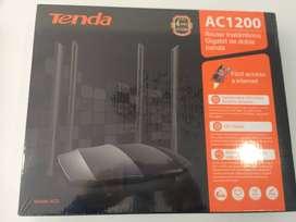 ROUTER AC8 TENDA AC1200 DUAL BANDA 5G GIGABIT