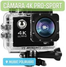 Camara 4K PRO-SPORT