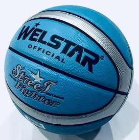 Balón basketboll en cuero sintético