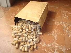 Corchos usados por 300 uni.