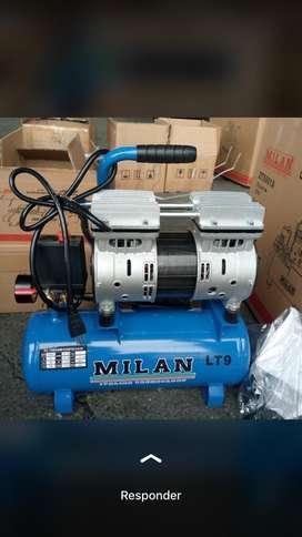 Súper oferta!!! Compresor  Milan 9l silencioso, motor de aire seco!!! Calidad garantizada!!