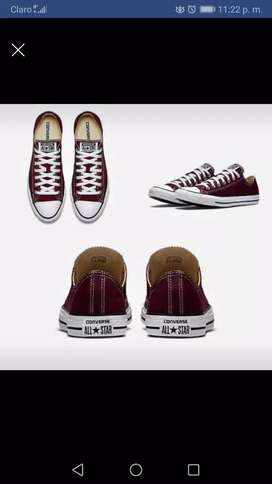 Zapatos converse all Star corte bajo disponible