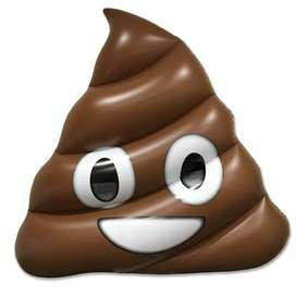 Flotador/Inflable Poop Emoji Gigante