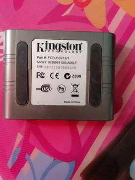 Kingston Z890 Card USB, adaptador USB de tarjetas