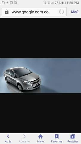 Alquilo Carro Chevrolet Sail