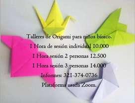 Clases de Origami básico
