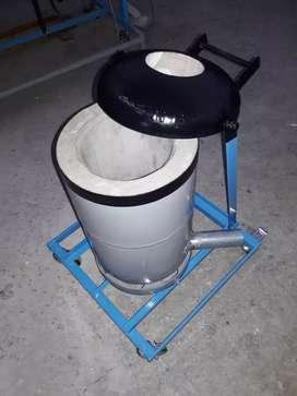 horno para fundir metales
