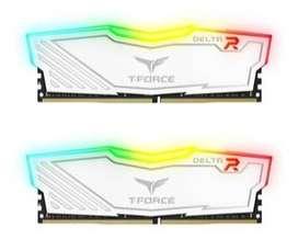 MEMORIA RAM 8 GIGAS DDR4 3000 T-FORCE DELTA RGB