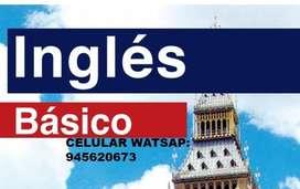 CLASES DE INGLES AMERICANO BÁSICO INTERMEDIO