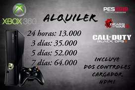 Alquiler Xbox 360