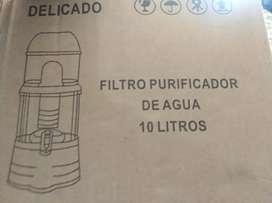Venta de un purificador de agua 10 litros