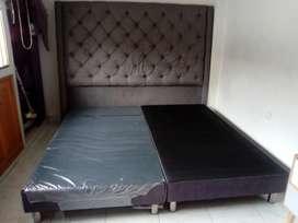 Espaldar y base cama 2x2