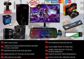 PC GAMER COMPLETA I3 + SSD 240 GB + VIDEO NVIDIA 2 GB + 8 GB RAM