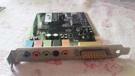 tarjeta de sonido PCIGenius Sound Maker Value 5.1