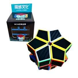 Cubo Rubik Square One Fibra Carbono Meilong Speedcube Moyu