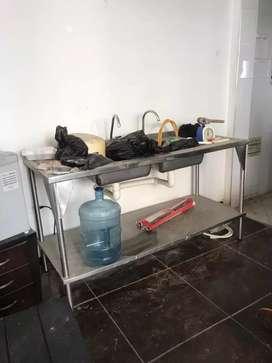 Cocina industrial de restaurante